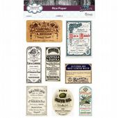 CE Rice Paper by Andy Skinner - Labels - CEASRIC05